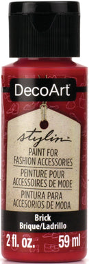 DecoArt Stylin Paint 2oz-Brick