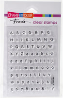 Stampendous Perfectly Clear Stamps -Tiny Alphabet - Pens N More