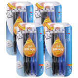 Paper Mate InkJoy 100ST Ball Point Pen and Touchscreen Stylus, Capped, Business Colors, 16 Count