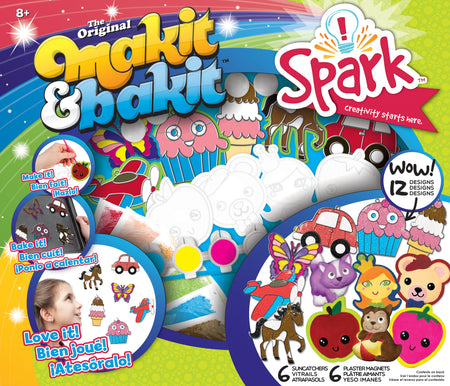 Makit & Bakit Suncatcher Set 12/Pkg-Combo - Pens N More