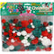 Pom-Poms Assorted 300/Pkg-Christmas - Pens N More