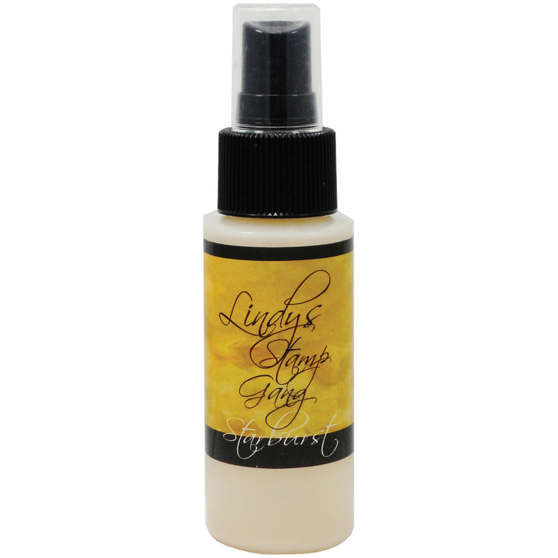 Lindy's Stamp Gang Starburst Spray 2oz Bottle-Glory Of The Seas Gold