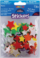 Foam Stickers 120/Pkg-Stars