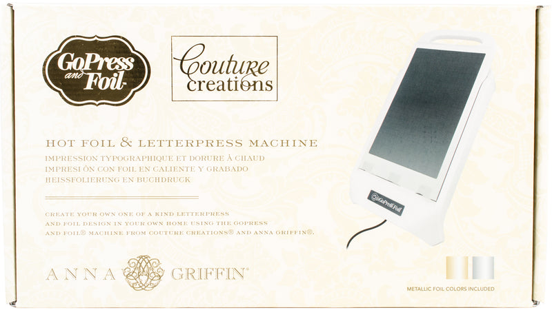 Couture Creations/Anna Griffin GoPress & Foil Machine- - Pens N More