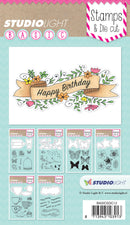 Studio Light Basic Stamp & Die Set-Sentiments - Pens N More