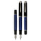 Pelikan Souveran M805 Black/Blue Fountain Pen - Fine Nib