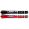 Expo Ink Indicator Dry Erase Chisel Markers 2/Pkg-Red