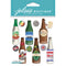 Jolee's Boutique Dimensional Stickers-Beer Bottles