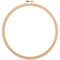 "Frank A. Edmunds Wood Embroidery Hoop W/Round Edges 10""-Natural - Pens N More"