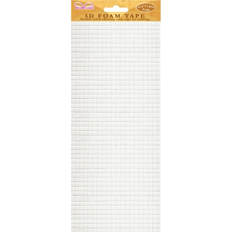 Best Creation Double-Sided Foam Tape-Small Squares