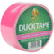 "Bright Duck Tape 1.88""X15yd-Funky Flamingo"