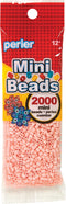 Mini Perler Beads 2000/Pkg-Peach - Pens N More