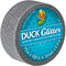 "Glitter Mini Duck Tape .75""X15'-Silver"