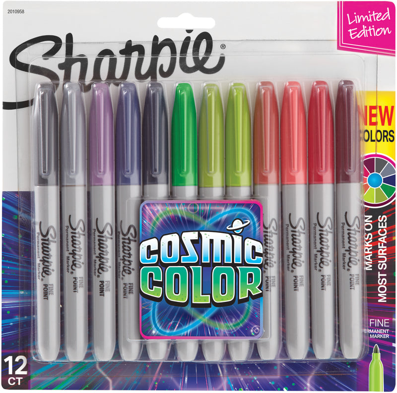 Sharpie Cosmic Color Fine Point Markers 12/Pkg-