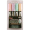 Bistro Chalk Marker Broad Point Set 4/Pkg-Pastel Yellow, Pink, Green & Yellow