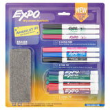 Expo Low Odor Dry Erase Markers, Chisel, Fine and Ultra Fine, Assorted Colors, 24-Count Set