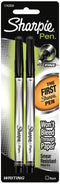 Sharpie Fine Point Writing Pens 2/Pkg-Black