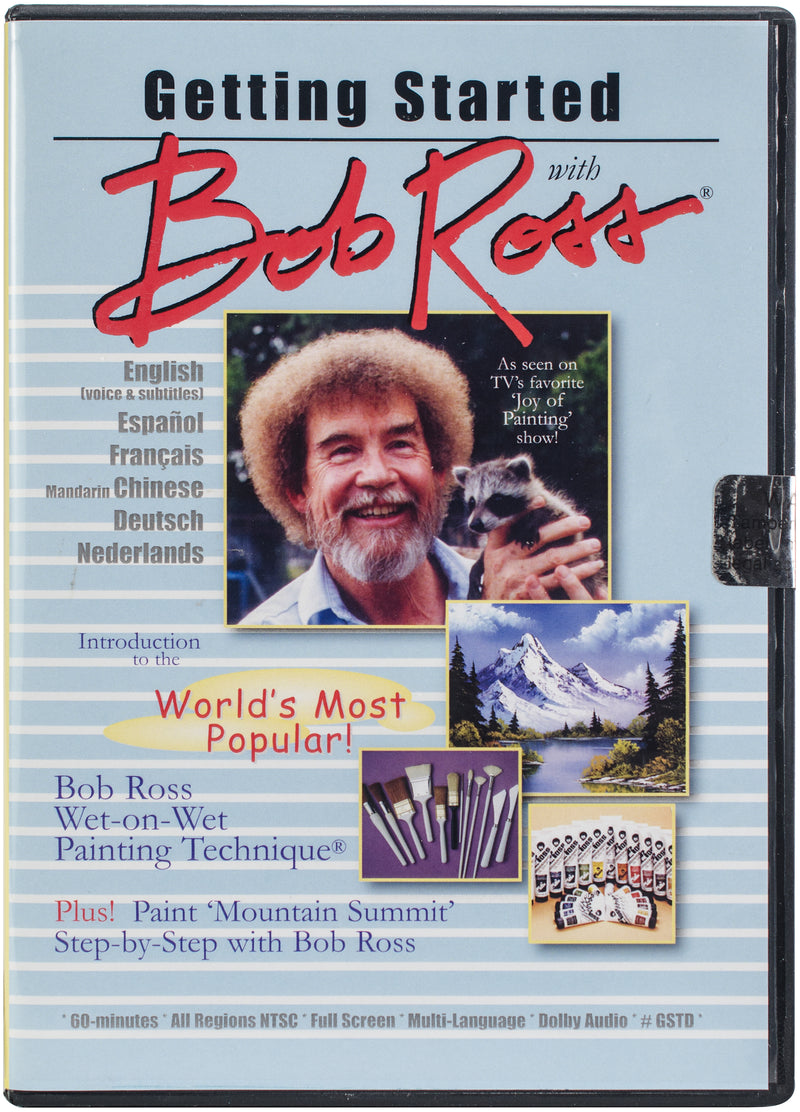 Getting Started W/Bob Ross DVD-Oil Painting