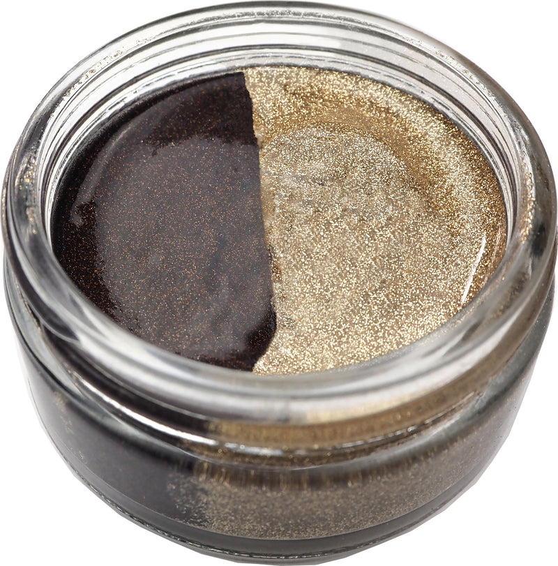 Cosmic Shimmer Glitter Kiss Duo-Chocolate Box - Pens N More