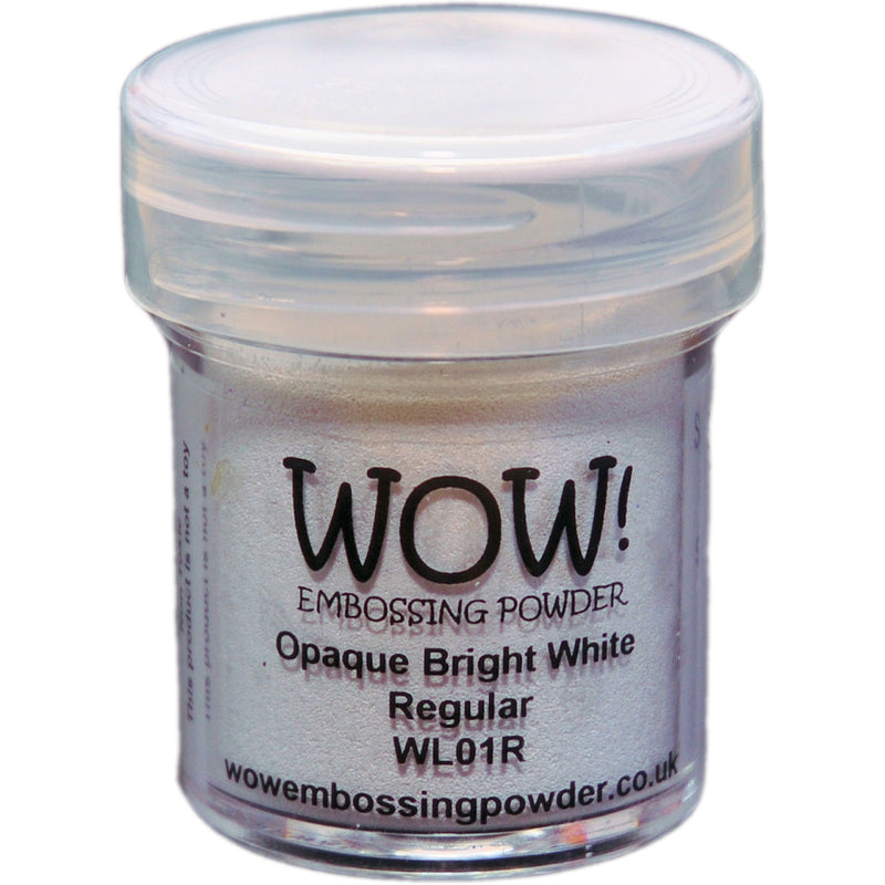 WOW! Embossing Powder 15ml-Opaque Bright White - Pens N More