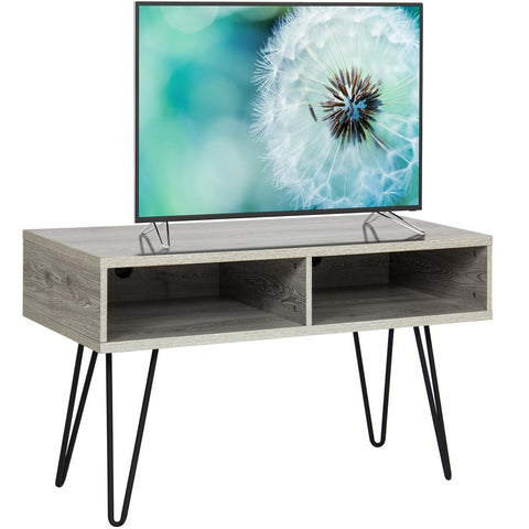 "Entertainment 42"" TV Stand Media Console With Metal Hairpin Legs"