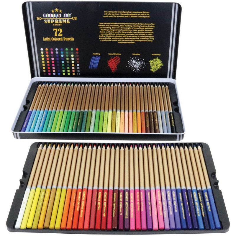 Colored Pencils 72/Pkg- - Pens N More