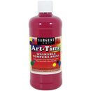 Washable Art-Time(R) Tempera Paint 16oz-Magenta - Pens N More