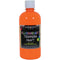 Fluorescent Tempera Paint 16oz-Yellow Orange - Pens N More