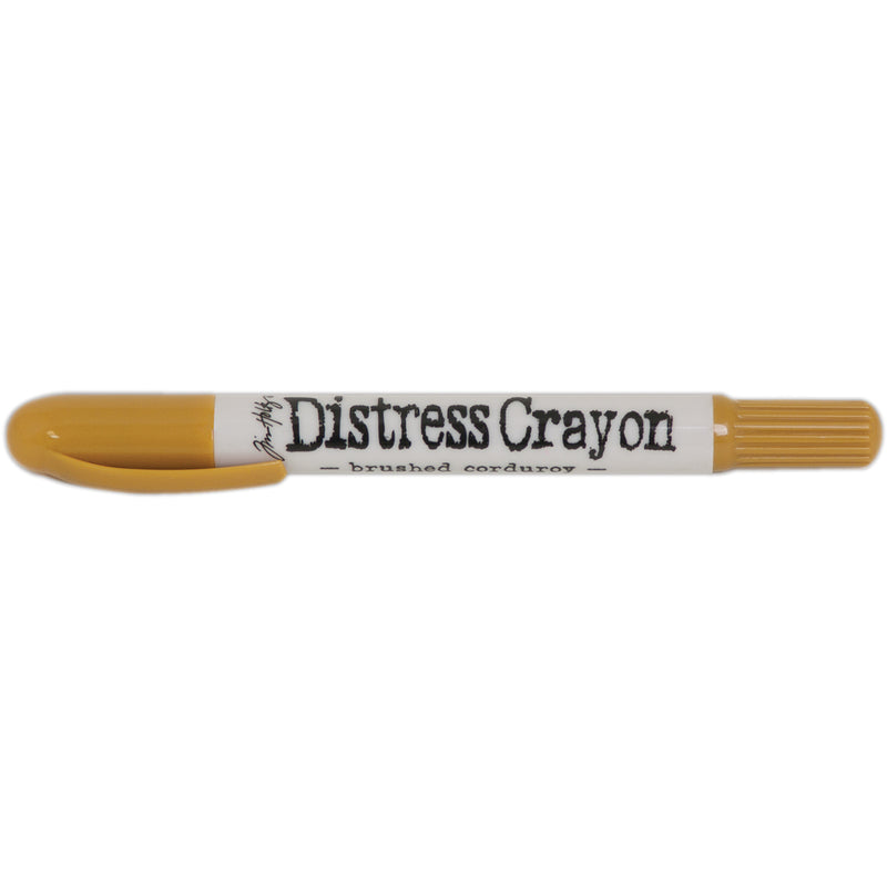 Tim Holtz Distress Crayons-Brused Corduroy