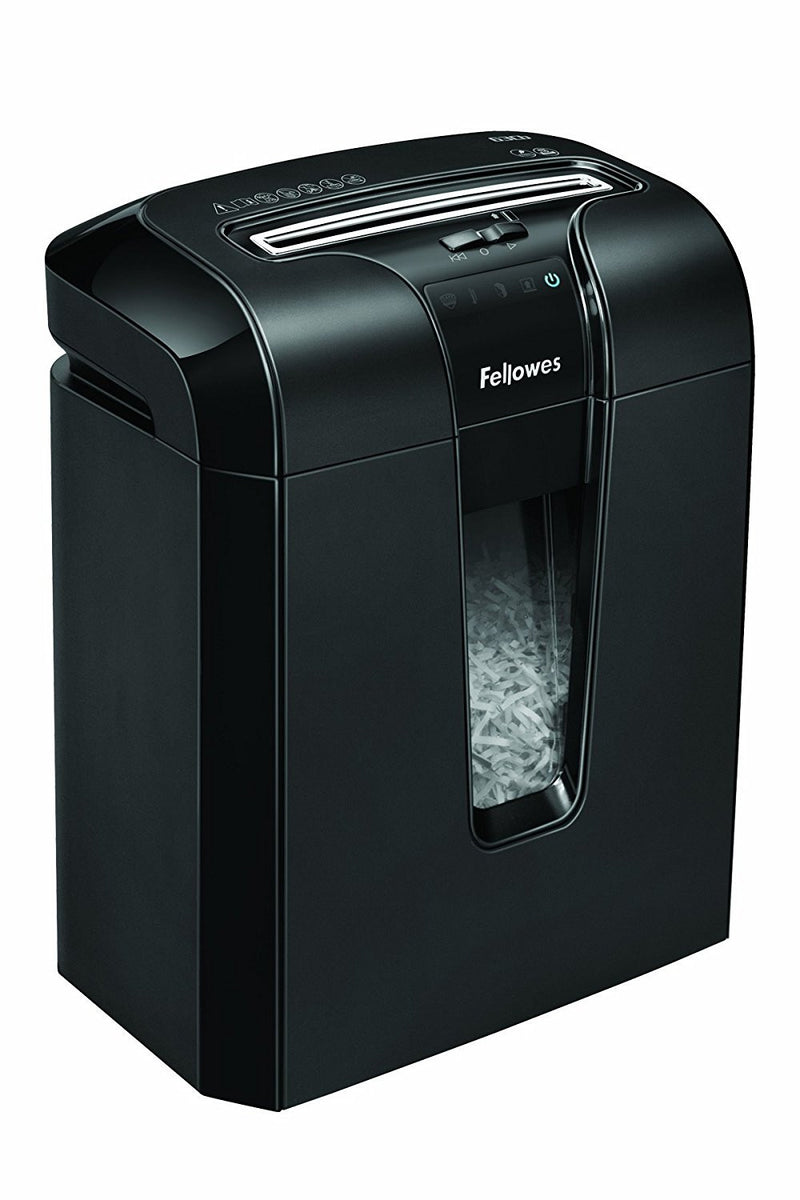 Fellowes Refurbished Powershred 64Cb 10-Sheet Cross-Cut Small Office / Home Office Shredder