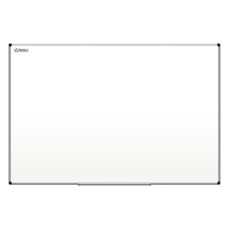 Thornton's Office Supplies Aluminum Frame 36 in x 48 in Dry Erase Whiteboard, Set of 2