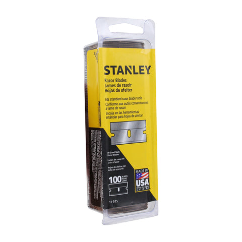 Stanley 1-1/2-Inch Single Edge #9 Razor Blades, 100-Pack