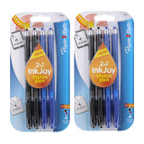 Paper Mate InkJoy 100ST Ball Point Pen and Touchscreen Stylus, Capped, Business Colors, 8 Count