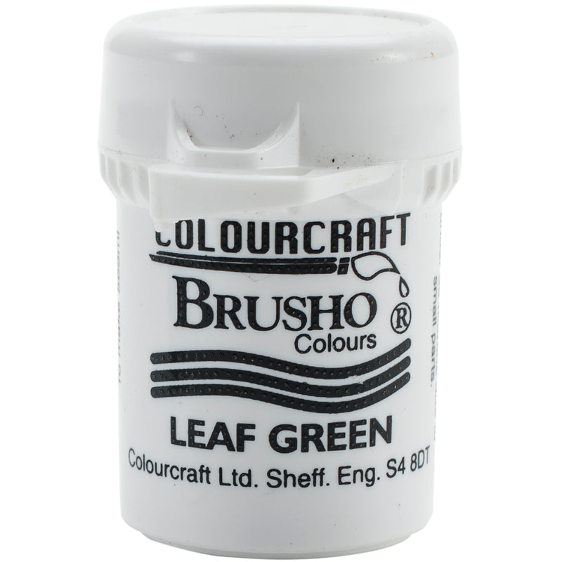 Brusho Crystal Colour 15g-Leaf Green