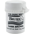 Brusho Crystal Colour 15g-Dark Brown
