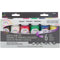 Testors Craft Acrylic Paint Set 6/Pkg-Primary Matte