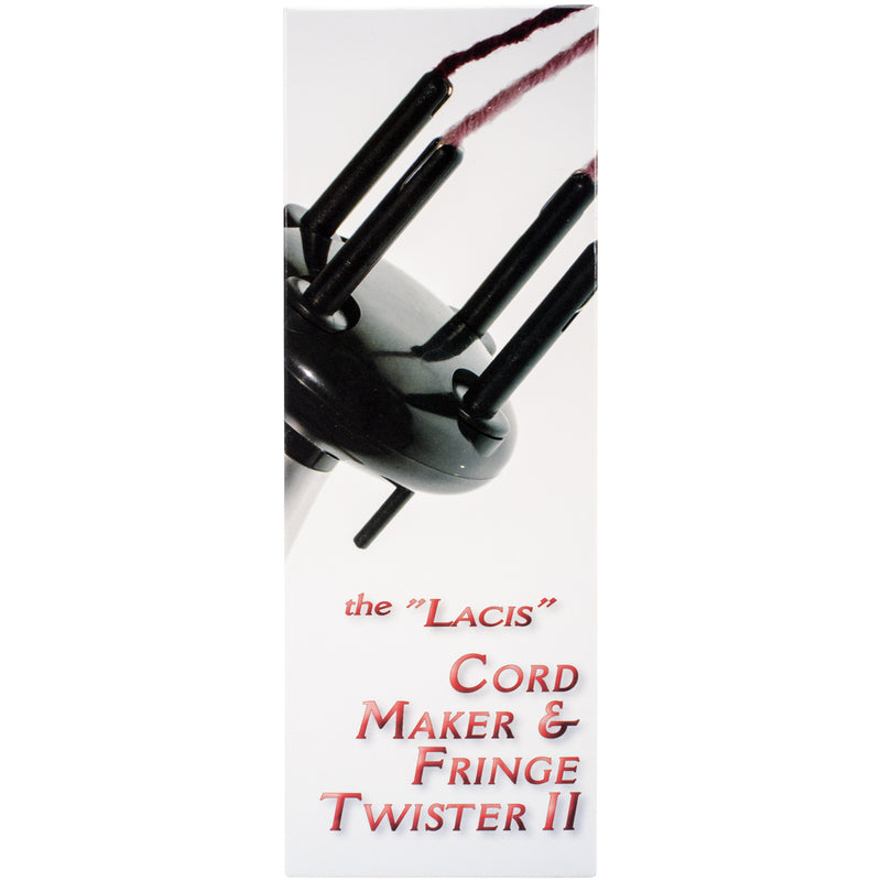 Lacis Cord Maker & Fringe Twister II-2-4 Ply - Pens N More