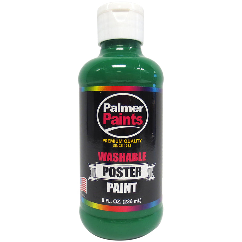 Washable Poster Paint 8oz-Green