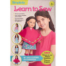 "Simplicity Learn To Sew -18"" Doll Clothes - Pens N More"