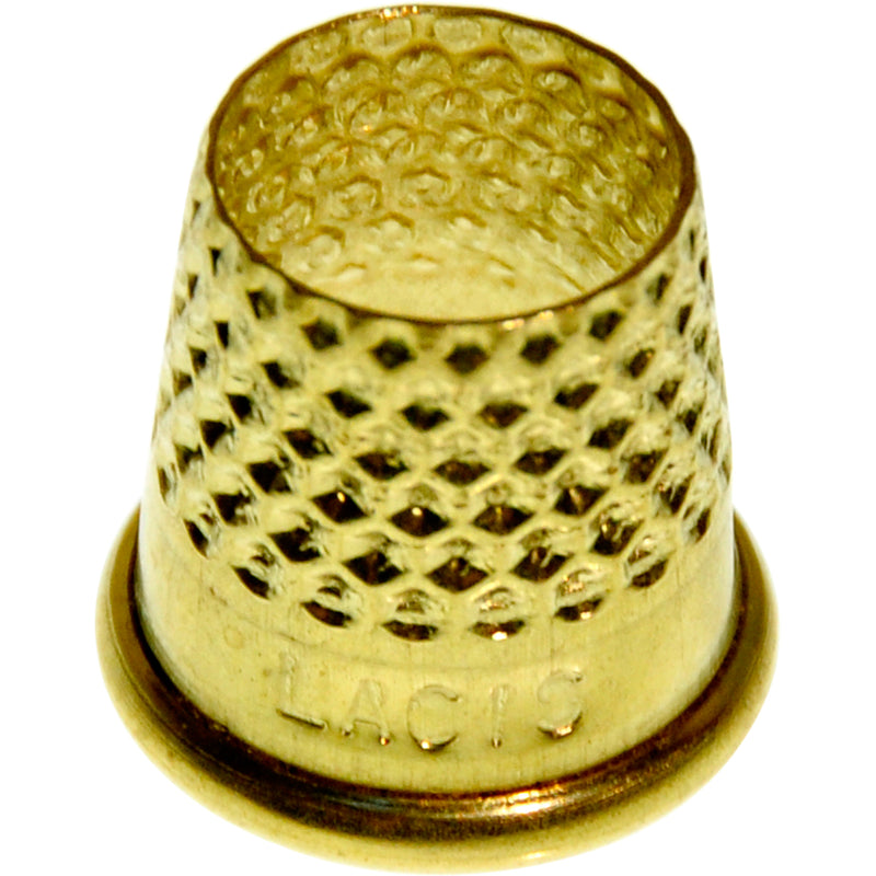 Lacis Open Top Tailor's Thimble-Size 16mm