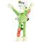 goDog Crazy Tugs Monkey with Chew Guard Large-Lime - Pens N More