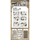 Tim Holtz Mini Layered Stencil Set 3/Pkg-Set