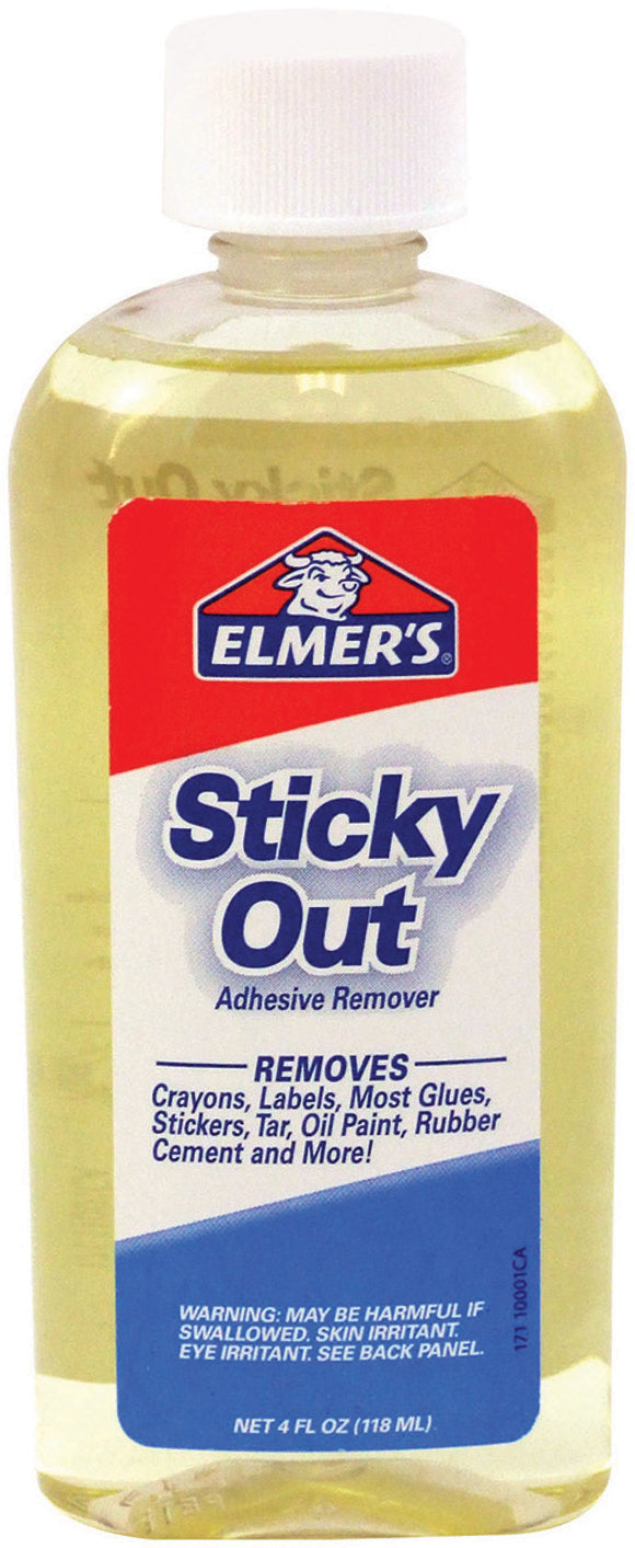 Elmer's Sticky Out, Sticky Stuff Remover -4oz