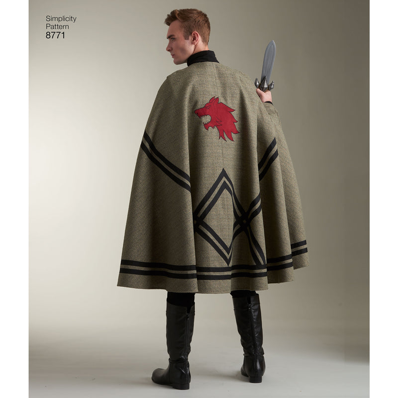 Simplicity Andrea Schewe Adult Capes Tabards With Appliques- - Pens N More