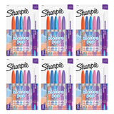 Sharpie Electro Pop Permanent Markers, Fine Point, Assorted Colors, 30 Count
