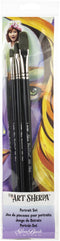 Art Sherpa Portrait Brush Set 4/Pkg-
