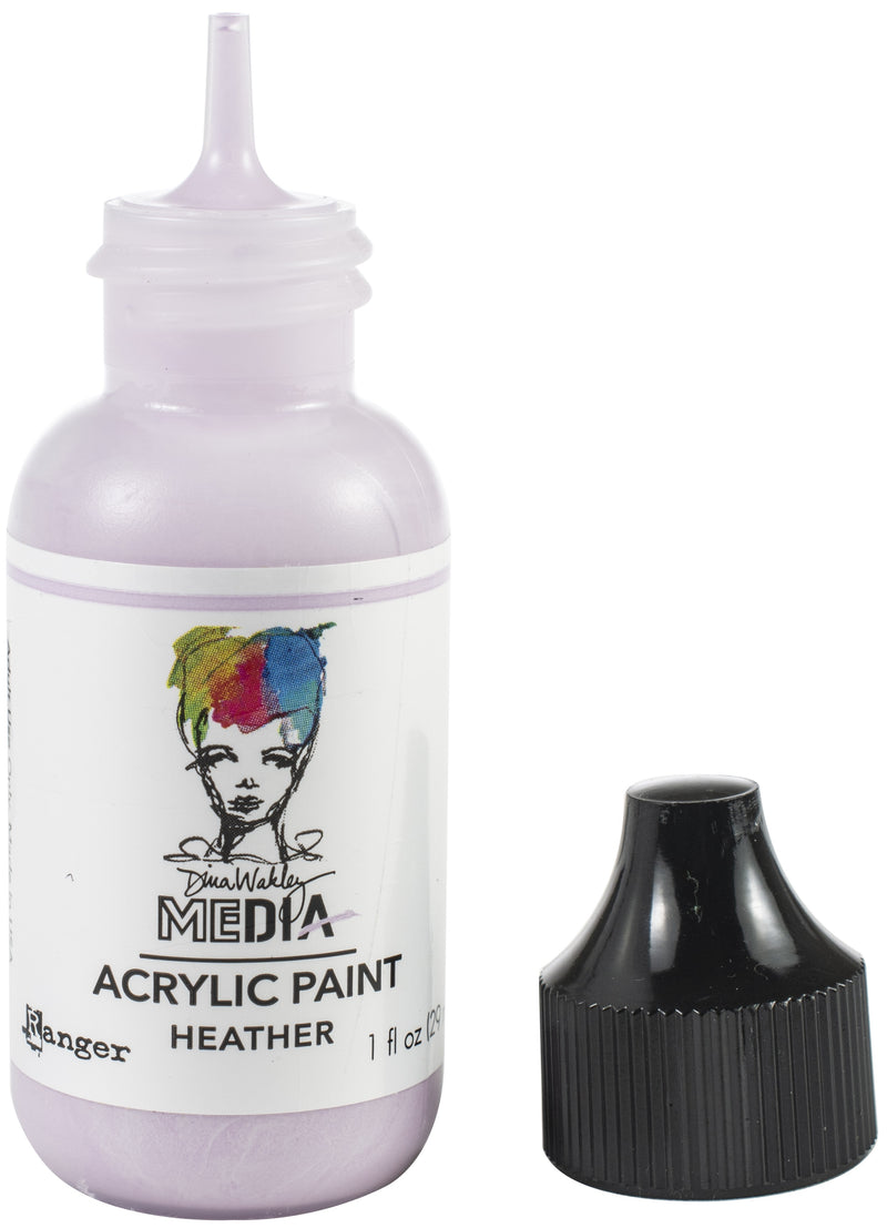 Dina Wakley Media Acrylic Paint 1oz-Heather