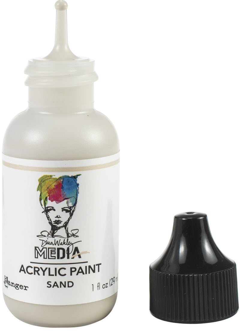 Dina Wakley Media Acrylic Paint 1oz-Sand