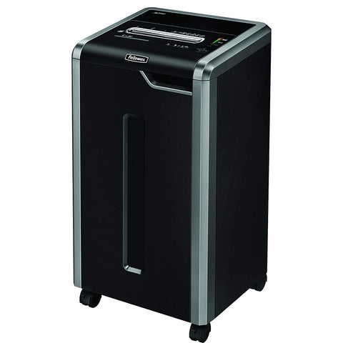 Fellowes Refurbished Powershred 325i 100% Jam Proof 24-Sheet Strip-Cut Commercial Grade Paper Shredder