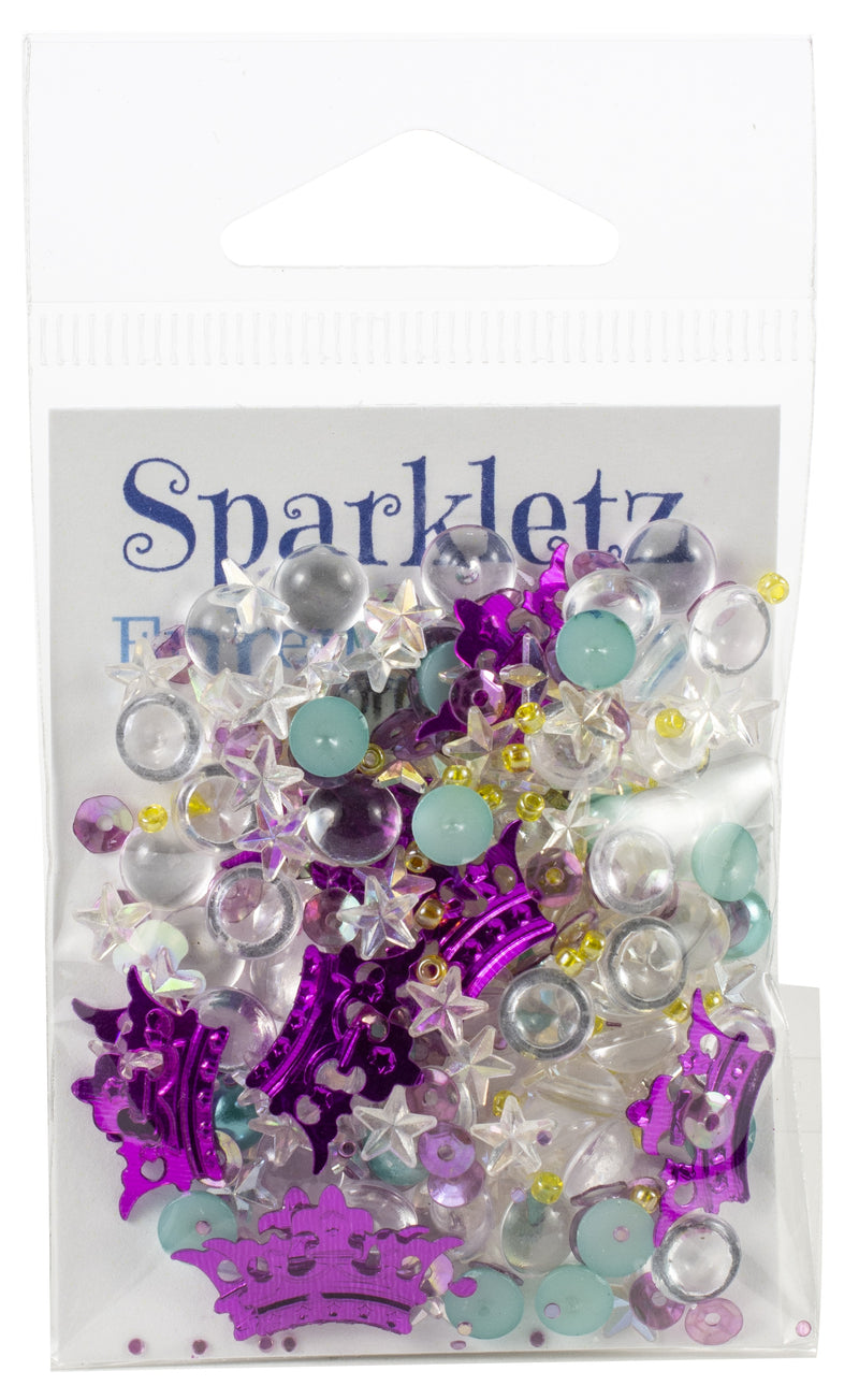 Sparkletz Embellishment Pack 10g-Princess Dreams - Pens N More